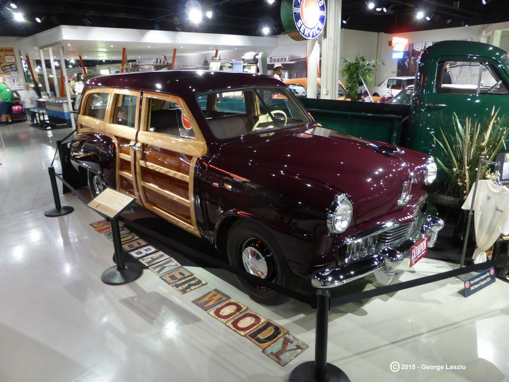 1947 Champion Deluxe Woody Wagon