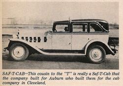 1934 Checker Saf-T-Cab