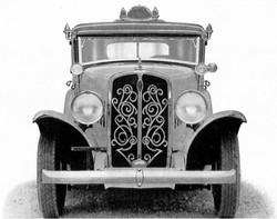 1933 Checker Model T Front