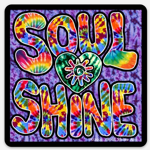 Soul Shine Sticker