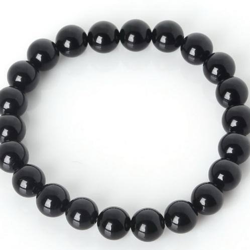 Obsidian Stretch Bracelet