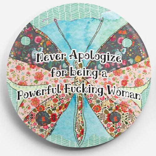Powerful Woman Pin