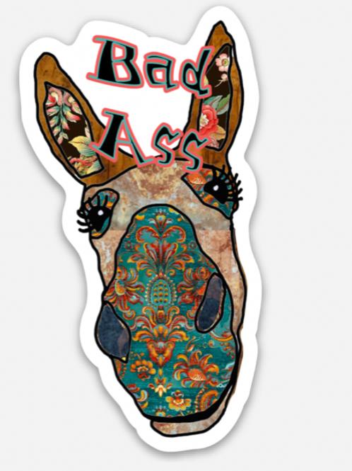 Bad Ass Sticker