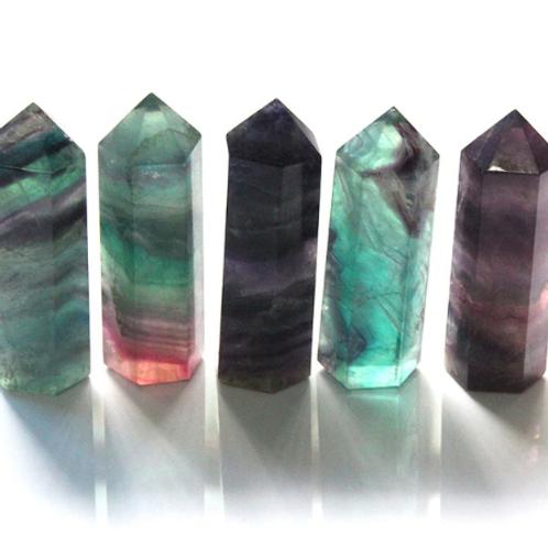 Fluorite Pillar- Medium