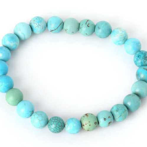 Turquoise Howlite Bracelet