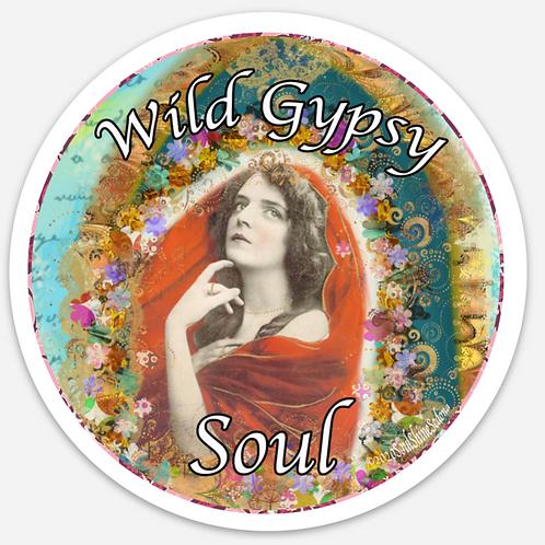 Wild Gypsy Soul Sticker
