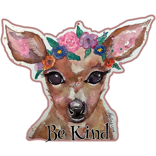 Be Kind- Die Cut Sticker