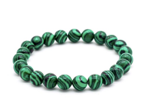 Malachite Stretch Bracelet