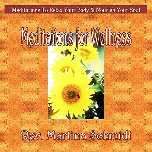 Meditations for Wellness- Audio CD