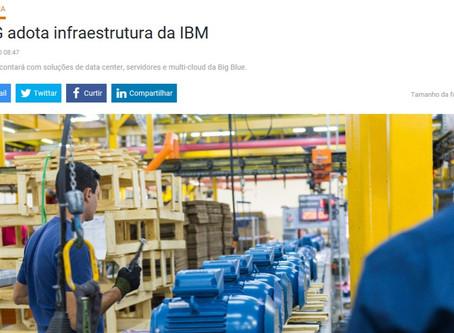 WEG Moderniza parque tecnológico de Datacenter com soluções de infraestrutura IBM