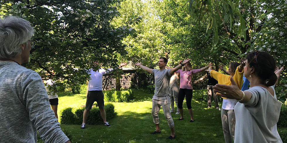 RAINBOW TAI-CHI-CHI-KUNG WORKSHOP 9 September 2018 in NEWTON ABBOT