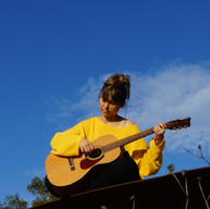 Helen playing a song