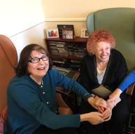 Shirley & Iris - Elderly class
