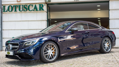 Mercedes Benz s63 AMG Coupe