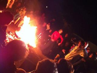 Dia da Peregrinação e festa em acampamento cigano