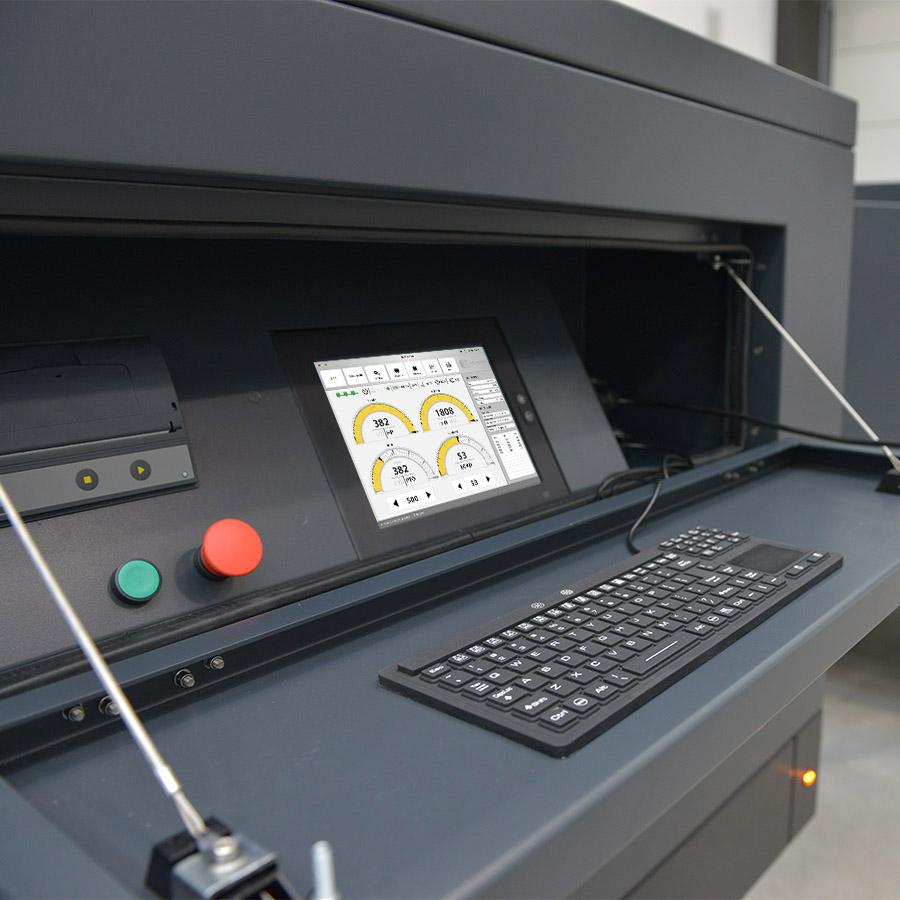 PRUFSTAND A400 Controls