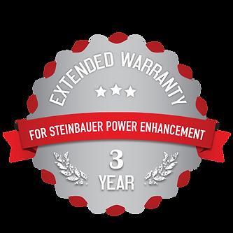STEINBAUER Warranty Garantieverlängerung Leistungsoptimierung Powerenhancement Car Tractor Truck