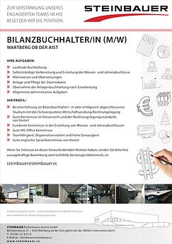 STEINBAUER engineering Stellenanzeige Vertirebsinnendienst entwicklung software hardware produktion