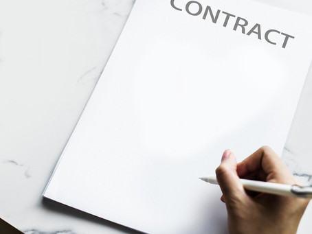 Value of a written contract