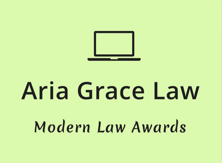 Shortlisted in 2 categories for the Modern Law Awards 2020