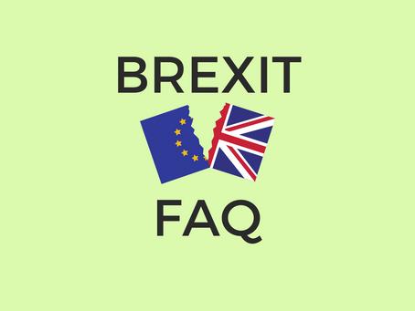Brexit - FAQ