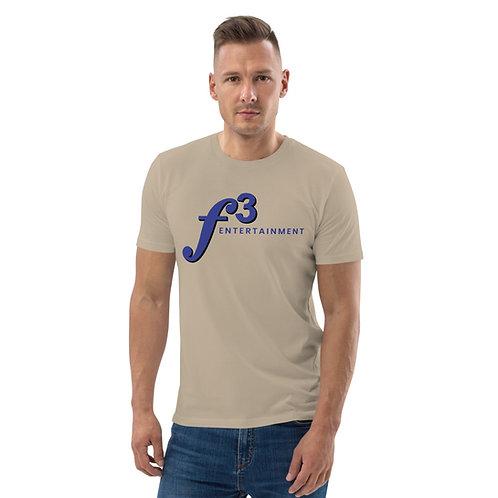 f3 men's organic cotton t-shirt
