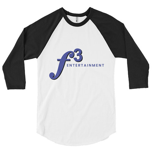 f3 baseball 3/4 length t-shirt