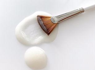 chemical peel on the brush
