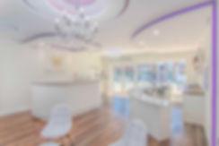 Fab Clinics reception and nail bar
