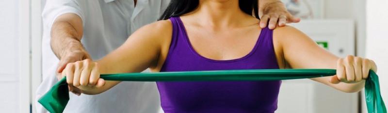 Fisioterapia para fortalecimento do ombro