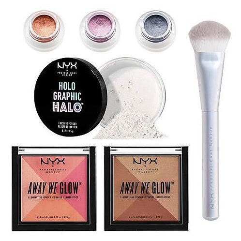 NYX 7PC Set Best Of Highlight Vault