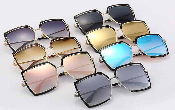 Gradient Mirror Sunglasses
