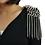 Thumbnail: Studded Tassel Shoulder Epaulettes (pair)