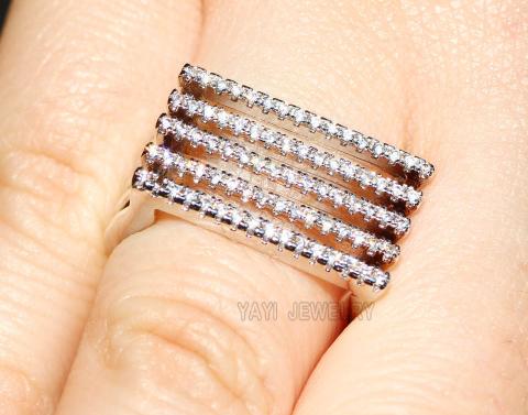 """Johanna"" Cubic Zirconia Ring"