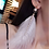 "Thumbnail: ""Sonya"" Pearl Feather Tassel Crystal Earrings"