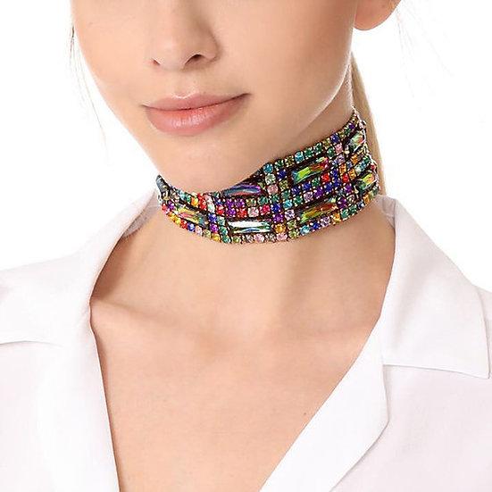 """Robin"" Crystal Beaded Necklace"