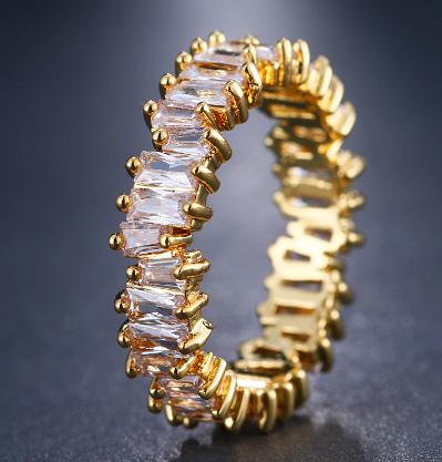 """Piper"" Cubic Zirconia Ring"