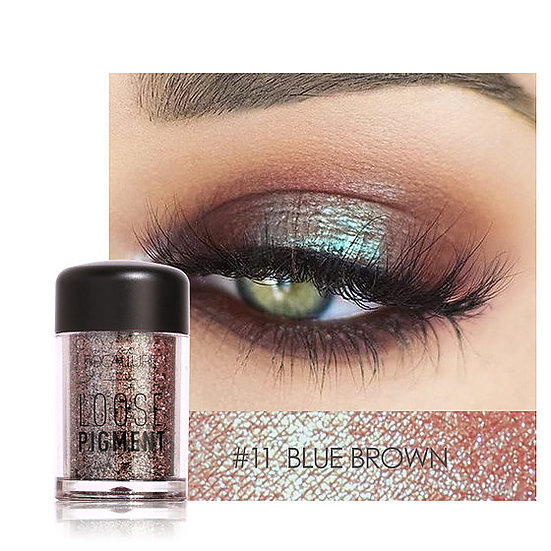 Shimmer Eye Pigment Powders - Blue Brown