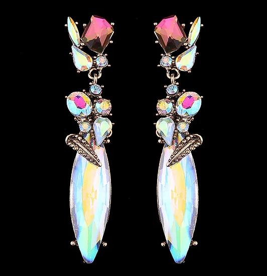 """Emma"" Crystal Earrings"