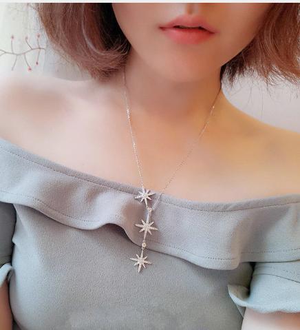 """Tamika"" Cubic Zirconia Necklace"