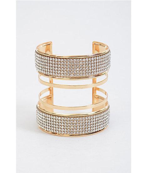 """Georgina"" Open Cuff Bracelet"