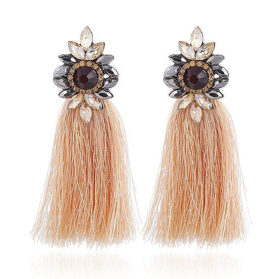 """""""Cali"""" Fringe Tassel Earrings"""