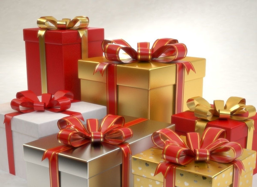 gift-boxes-set-christmas-presents-3d-mod