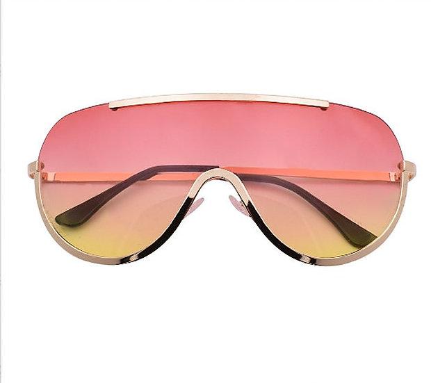 Gradient Shield Sunglasses