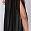 Thumbnail: Sheer Side Split Chiffon Skirt