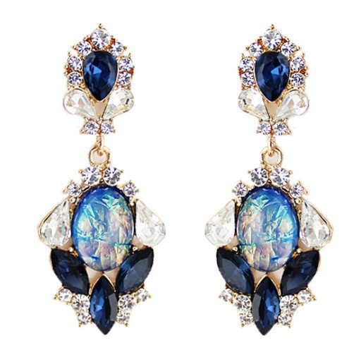 """""""Sia"""" Crystal Earrings"""