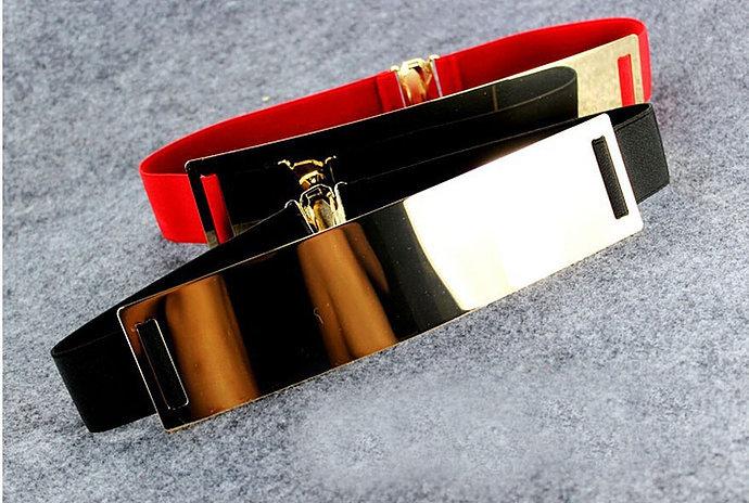 Gold Accent Buckle Belt
