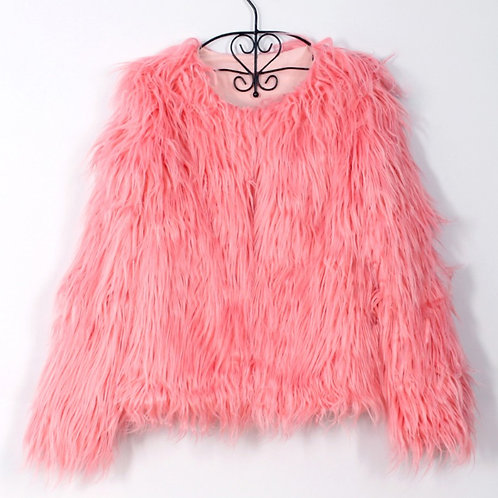 Shaggy Fur Coat