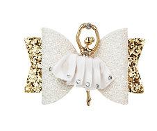 Glitter Angel Bow