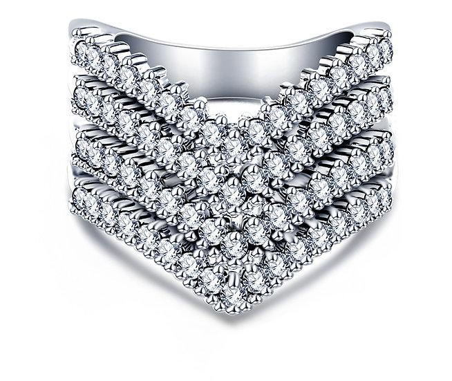 """Roz"" AAA Cubic Zirconia Ring"